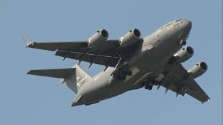 2017 Dover AFB Open House & Airshow - C-17 Globemaster III Demonstration