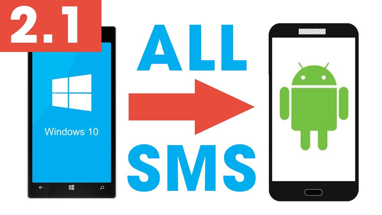 transfer sms from windows phone to android method 21 easy fast using contactsmessage backup