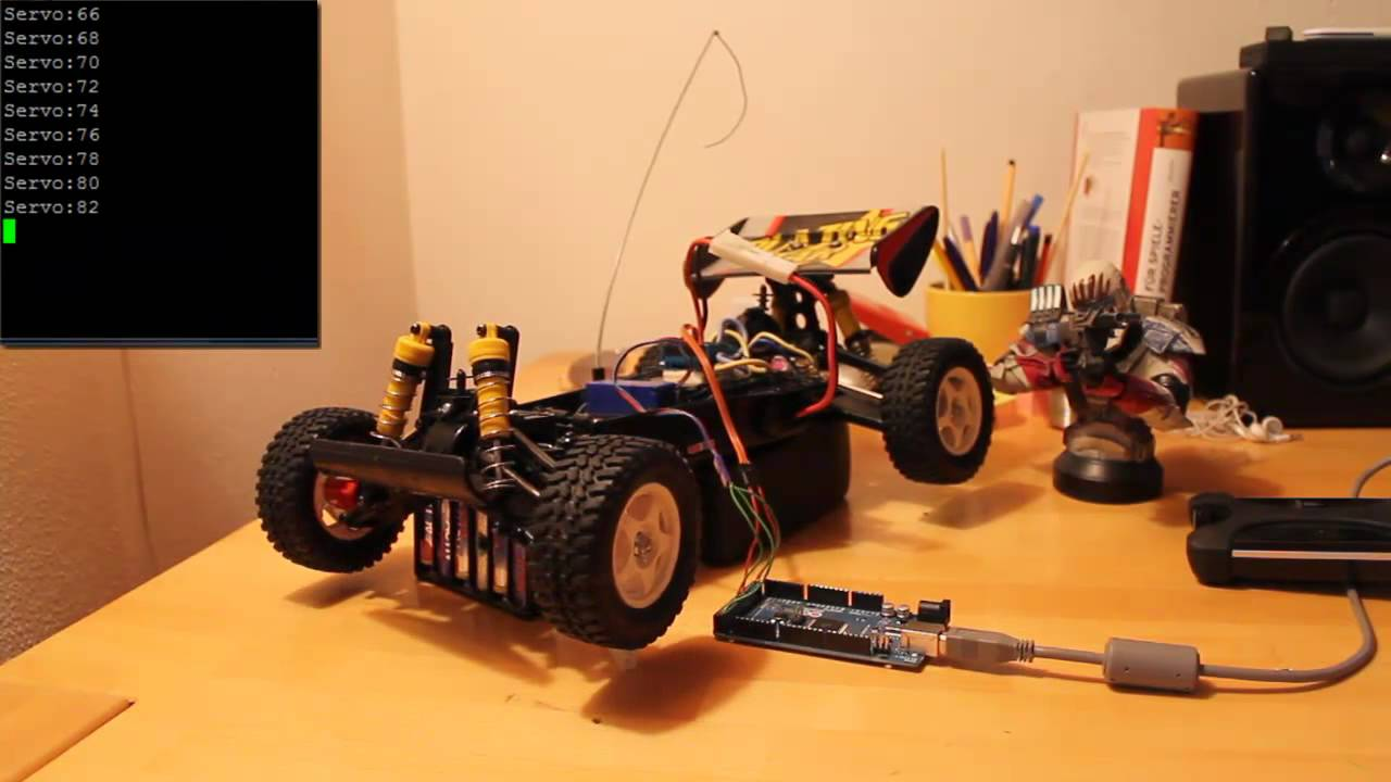 Tech Time: Arduino RC Car controlling (Servo/ESC Controlling)