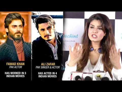 Raveena Tandon's BEST Reply On Pakistani Actors & Surgical Strike