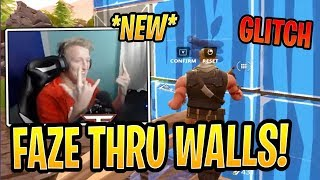 Tfue Learns *NEW* Phase Through Wall GLITCH! - Fortnite Best and Funny Moments