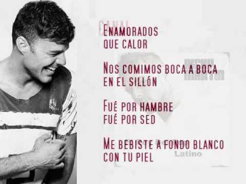 Ricky Martin Ft. Maluma - Vente Pa'ca (Con Letra)
