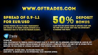 Broker GFtrade Review. Trading with low spread. Get $4/lot cashback. 50% Deposit bonus. Awards.