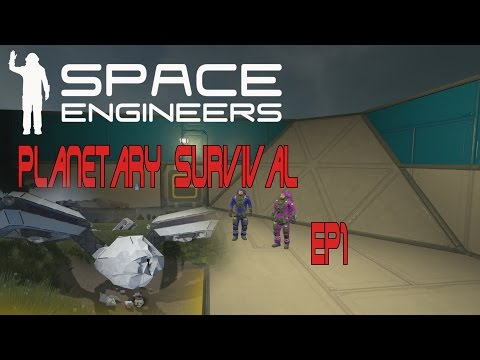 [ITA] Space Engineer: Planetary Survival EP1