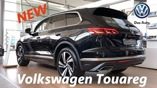 Volkswagen Touareg 2019 first quick look in 4K (Atmosphere) - Better than Q7?