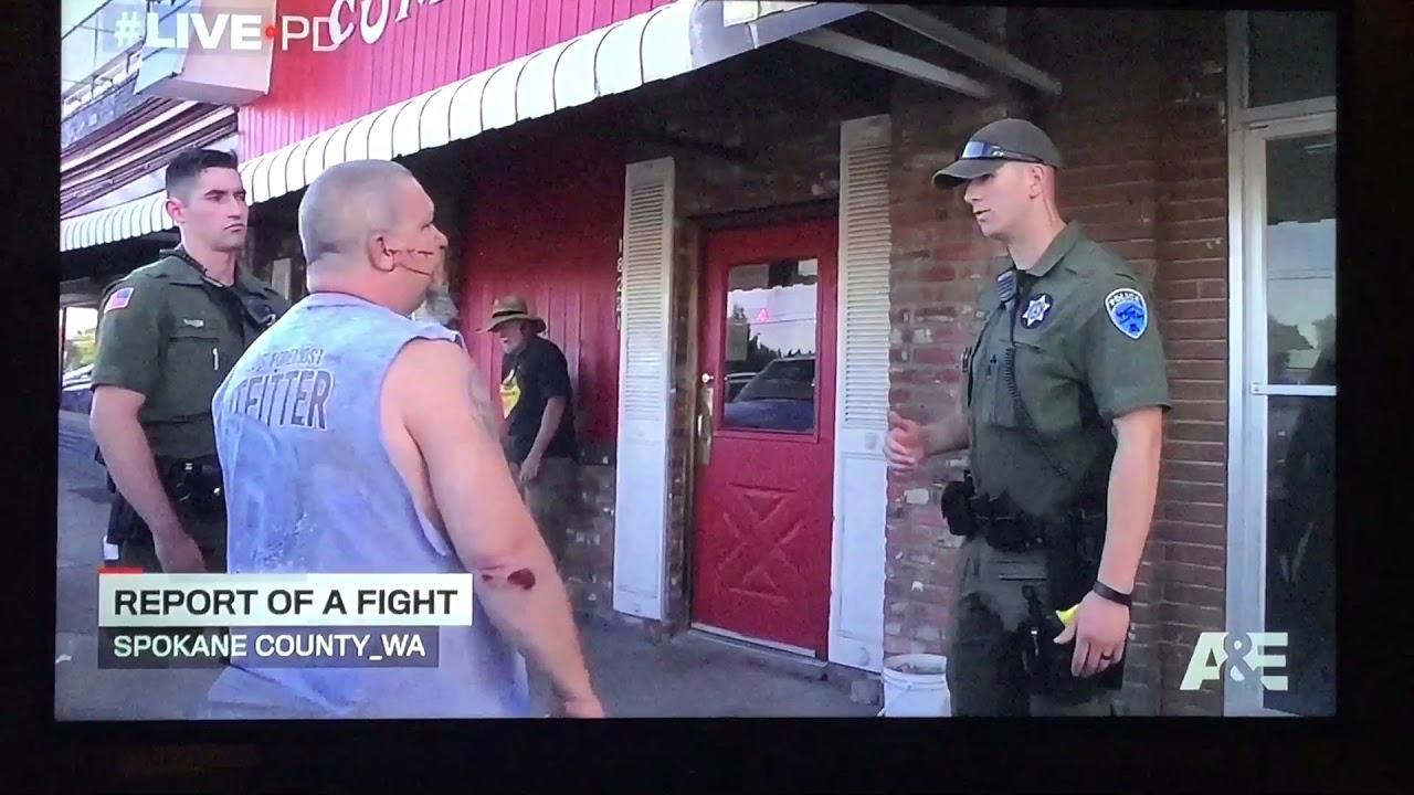Spokane policeman gay bar truck