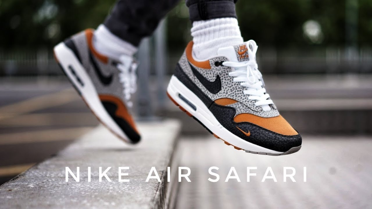 On Max Air 1 Safari Review Foot The Exclusive What Nike SIZE amp; Z8qwd5xZ