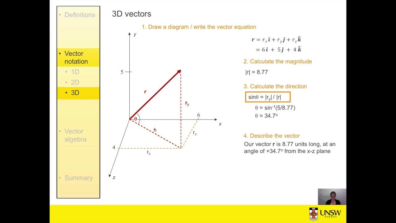 Vectors - Finding Magnitude or Length - YouTube |Magnitude Two Vectors Formula