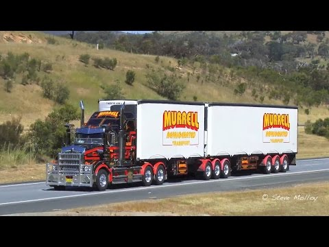 Australian Trucks : Nth Bound on The Hume Highway Wed 28/10/15