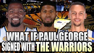 Paul George signing with The Golden State Warriors could END THE NBA!