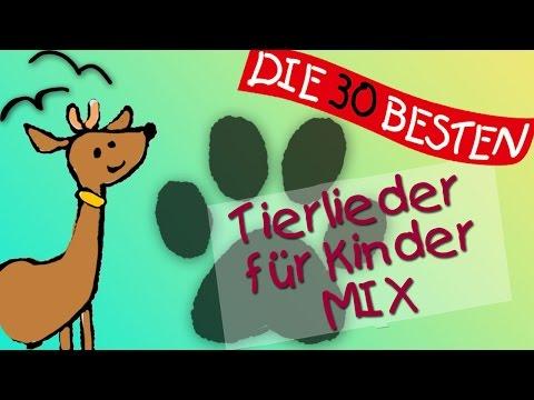 Tierlieder Mix für Kinder - Tierisch tolle Lieder zum Mitsingen