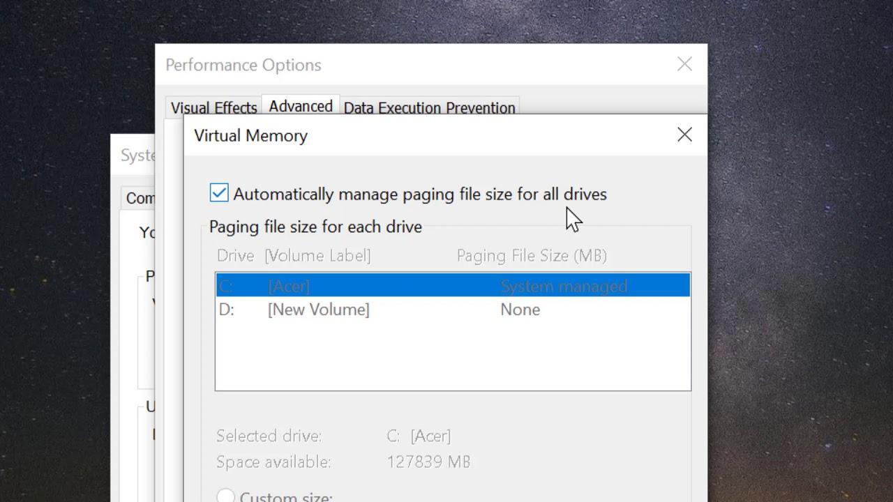 Cách Tự Động Xóa Pagefile.sys Khi Tắt Máy Trong Windows 10 - AN PHÁT