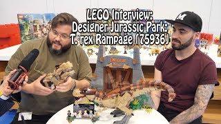 Interview: Designer Jurassic Park: T. rex Rampage (75936) (english)