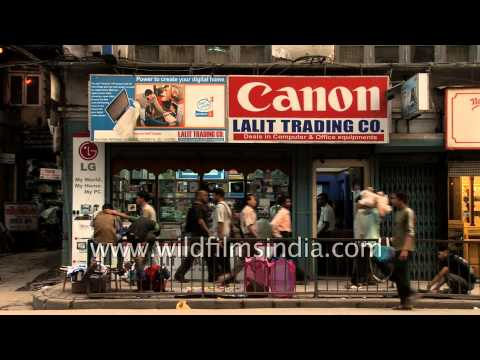 Canon office equipment and computer shops in Thamel, Kathmandu, Nepal