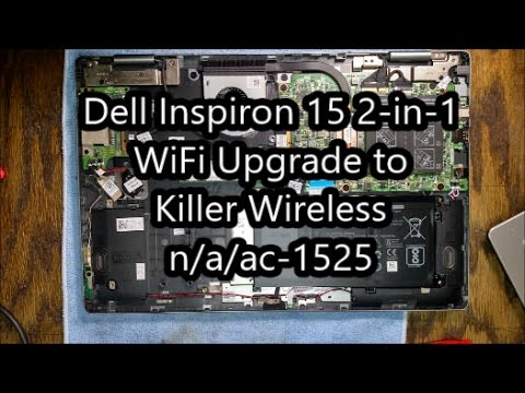 Upgrading the WiFi Card in My Dell Inspiron 7569