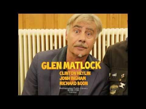 Glen Matlock_  Walthamstow Rock N Roll Book Club