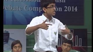 btv debate 2015 dhanmondi tutorial vs baf shaheen school part 2
