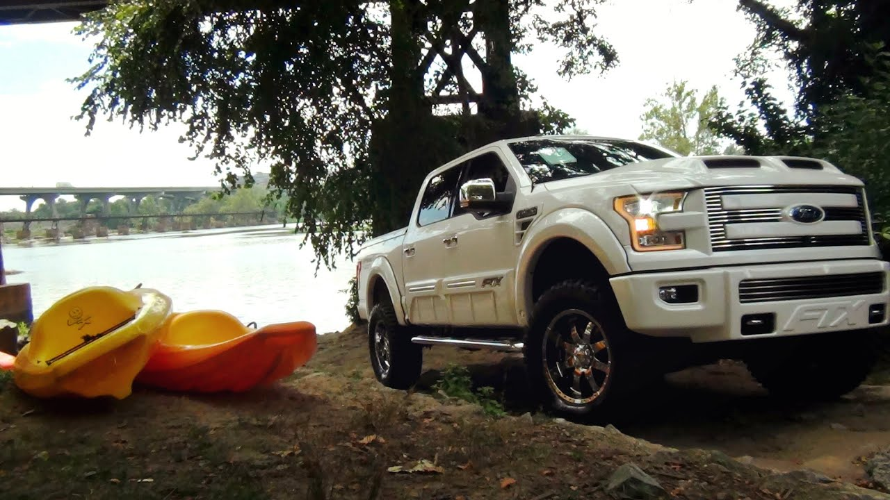 2015 Ford F150 Tuscany FTX with 6 inch Lift