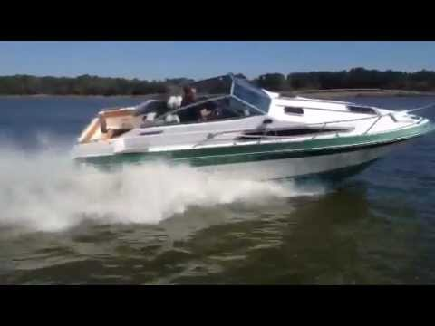 K 9 1989 1988 SeaRay 230 Weekender at lake - YouTube