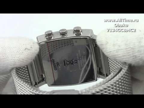 Обзор. Мужские наручные часы Obaku V134GCBMC2