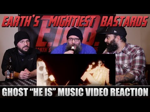 """Music Video Reaction: Ghost """"He is"""""""