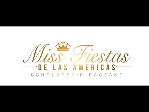 Miss Fiestas de las Americas Scholarship Pageant 2020