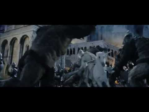 LOTR The Return of the King - Breaking the Gate of Gondor (The Siege of Gondor Part 4)