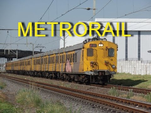 SOUTH AFRICAN TRAINS: METRO RAIL