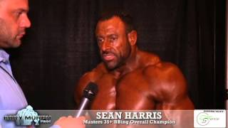 Sean Harris wins 35+ BBing OVERALL at the 2015 IFBB North Americans