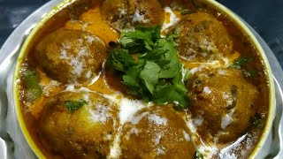 ALOO KOFTA CURRY | new and delicious recipe |