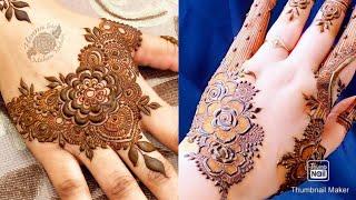 Awsome mehndi designs for back hand side | Beautiful latest #mehndi design