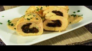 Куринные рулеты с грибной начинкой в горчичном соусе.Итальянская кухня