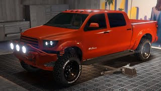 VAPID CONTENDER CUSTOMIZATION & TEST HIDDEN UNRELEASED CAR - GTA V ONLINE CUNNING STUNT DLC