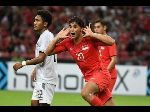 Singapore 6-1 Timor-Leste (AFF Suzuki Cup 2018 : Group Stage)