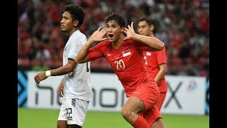 Singapore 6-1 Timor-Leste (AFF Suzuki Cup 2018 : Group Stage)