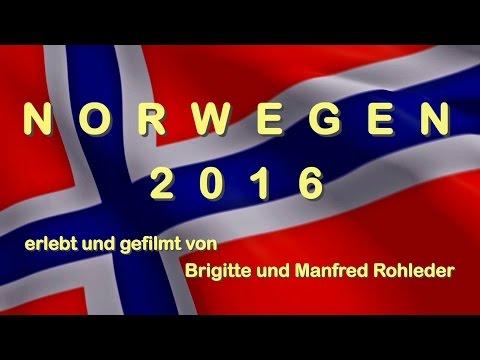 Mit dem Wohnmobil nach Norwegen 2016