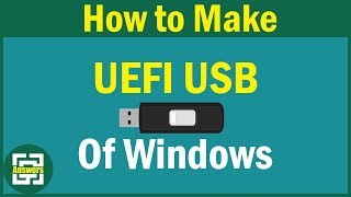 How to install Windows 10 on GPT disk using UEFI bootable