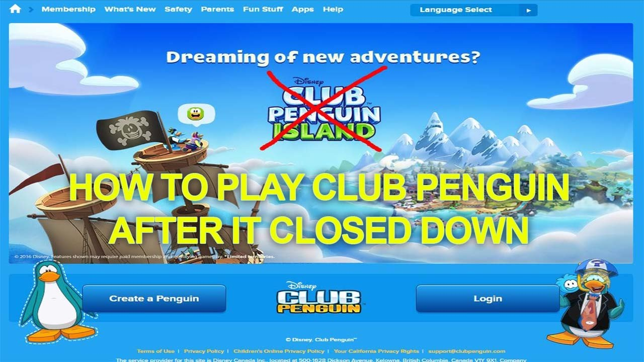Club Penguin Official Fanpage Hacked