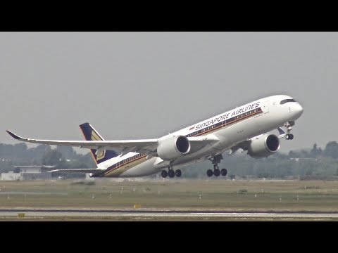 [4K] 25+ Minutes of Amazing Plane Spotting at Düsseldorf Intl. Airport (DUS/EDDL)
