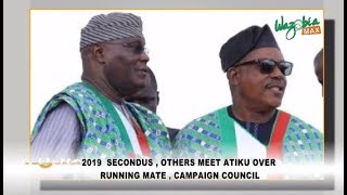 2019: Secondus, Others Meets Atiku Over Running Mate, Campaign Council