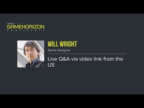 GameHorizon 2013 - Live Q&A with Will Wright