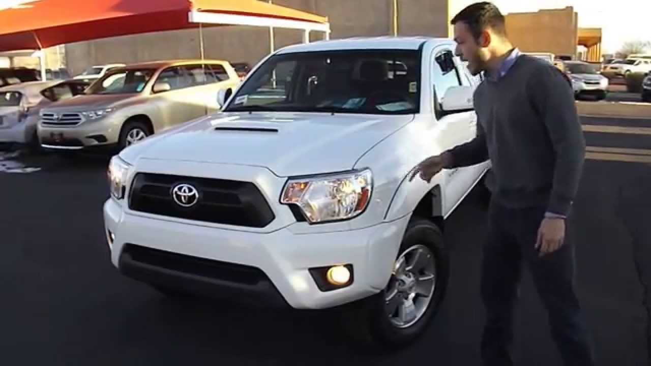 Nice 2013 Toyota Tacoma TRD Sport Review At Toyota Of Santa Fe