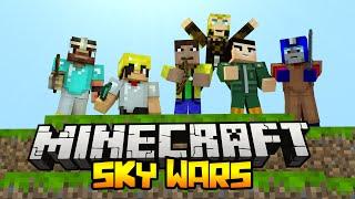 БИТВА НА 100 ЧЕЛОВЕК - Minecraft Скай Варс (Mini-Game)(, 2015-07-21T14:10:52.000Z)