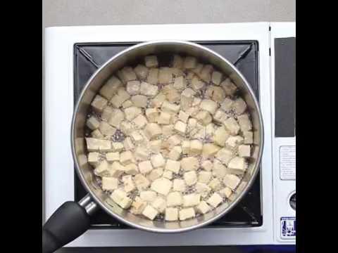 Tofu bicol express