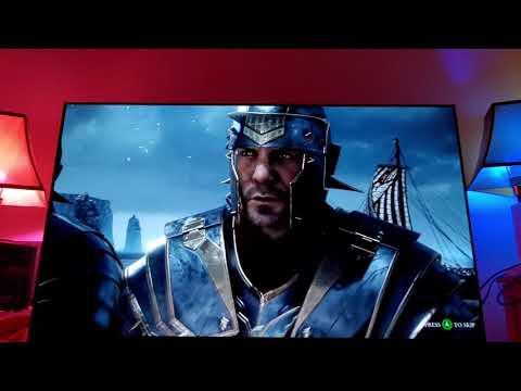 RYSE : Son Of Rome Shines On OLED TV