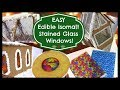 EASY Edible Isomalt Stained Glass Windows