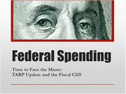 Time to Face the Music: TARP Update and Fiscal Cliff