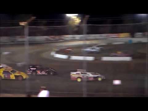 IMCA Modified Heat Race 1 - Bakersfield Speedway 9.16.17