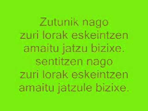 Gatibu - Lorak Eskeintzen (Lyrics)
