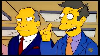 The Simpsons: Superintendent Chalmers inspecs the Springfield Elementary